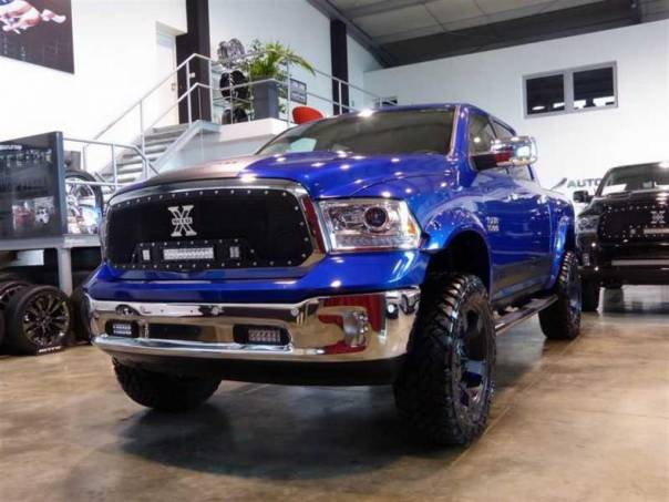 Dodge RAM 1500 Limited Blue Lift 13cm LED XD, foto 1 Auto – moto , Automobily | spěcháto.cz - bazar, inzerce zdarma