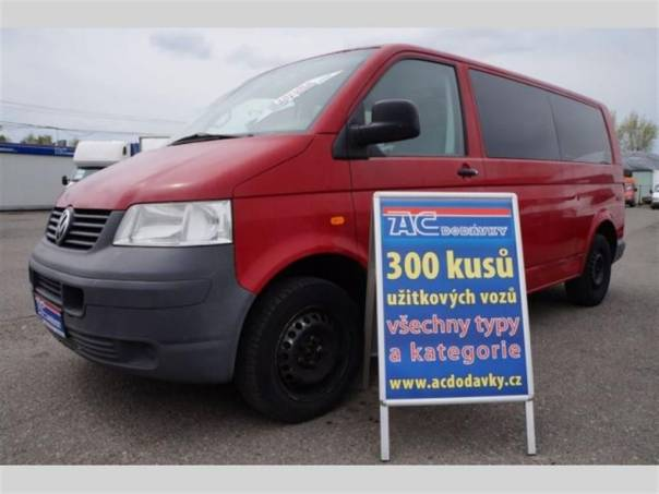Volkswagen Transporter 2,5 TDI 8 míst klima, foto 1 Užitkové a nákladní vozy, Autobusy | spěcháto.cz - bazar, inzerce zdarma
