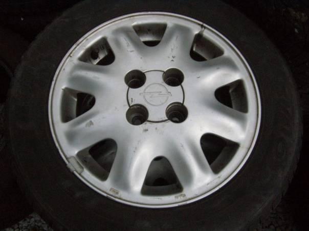 Opel  4x Al.kola+pneu 175/65,14, foto 1 Náhradní díly a příslušenství, Osobní vozy | spěcháto.cz - bazar, inzerce zdarma