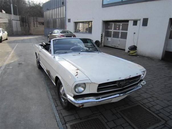 Mustang Conve 64 1/2 V8 260CUI, foto 1 Auto – moto , Automobily | spěcháto.cz - bazar, inzerce zdarma