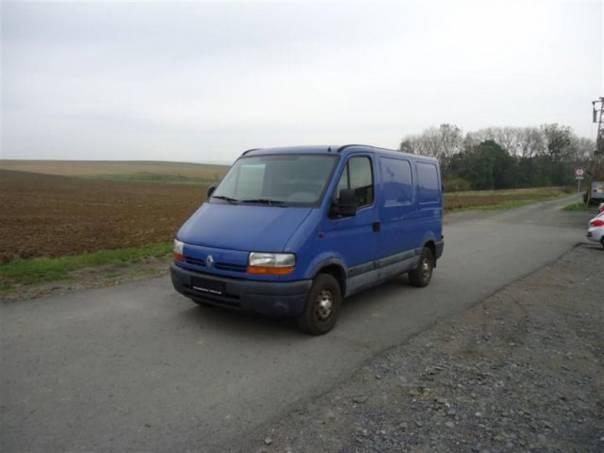 Renault Master 2,5 d, foto 1 Užitkové a nákladní vozy, Do 7,5 t | spěcháto.cz - bazar, inzerce zdarma