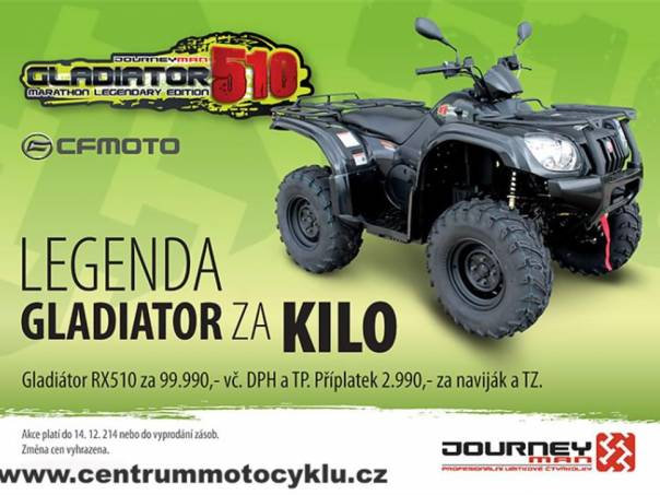 Journeyman Gladiator Gladiator 510RX, foto 1 Auto – moto , Motocykly a čtyřkolky | spěcháto.cz - bazar, inzerce zdarma