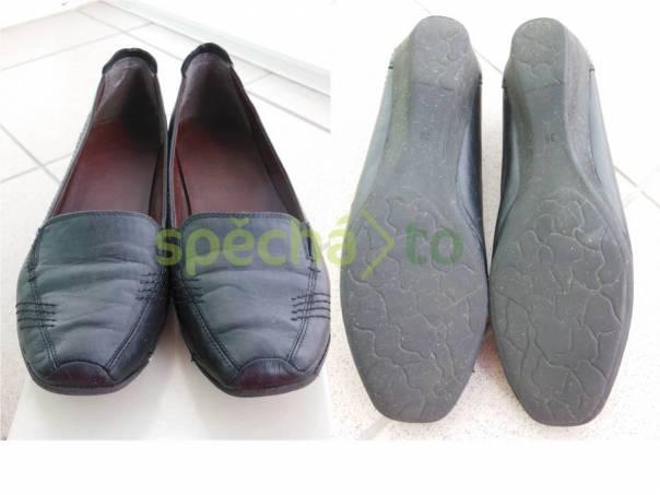 Dámská vycházková obuv, kožená, černá, zn. Baťa, velikost 38, foto 1 Móda a zdraví, Dámská obuv | spěcháto.cz - bazar, inzerce zdarma