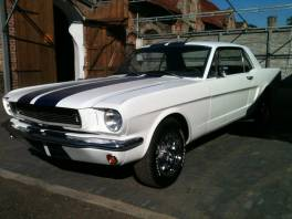 Ford Mustang 66 Coupe 302V8 4speed  - usClassic24.cz