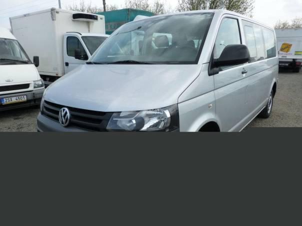 Volkswagen Transporter 9 míst 2,0TDi long + klima TOPSTAV, foto 1 Užitkové a nákladní vozy, Do 7,5 t | spěcháto.cz - bazar, inzerce zdarma