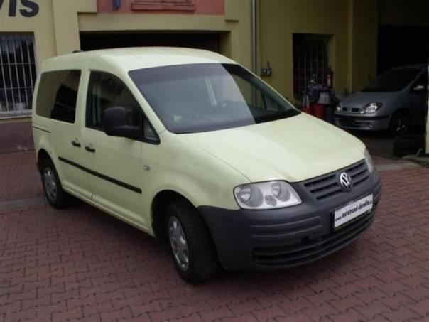 Volkswagen Caddy 1,9TDi-77kW, foto 1 Auto – moto , Automobily | spěcháto.cz - bazar, inzerce zdarma