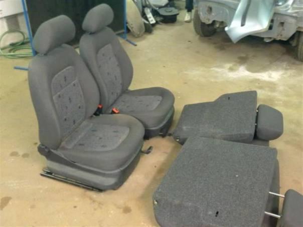 Škoda Fabia kompletní sada sedadel, foto 1 Náhradní díly a příslušenství, Ostatní | spěcháto.cz - bazar, inzerce zdarma