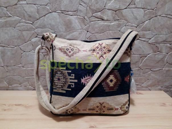 kabelka látková orientální (modrá), foto 1 Móda a zdraví, Kabelky, tašky, zavazadla | spěcháto.cz - bazar, inzerce zdarma