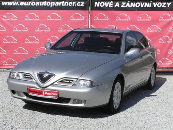 Alfa Romeo 166 2,4JTD kůže NAVI DIGI klima, foto 1 Auto – moto , Automobily | spěcháto.cz - bazar, inzerce zdarma