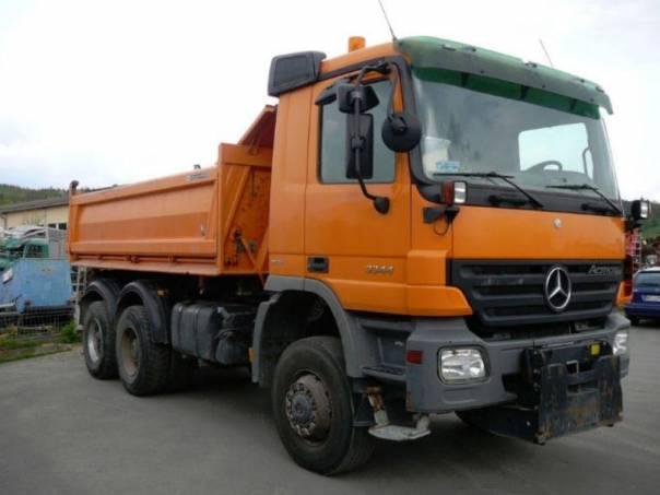 Mercedes-Benz  3344 AK 6x6  EURO 5, foto 1 Užitkové a nákladní vozy, Nad 7,5 t | spěcháto.cz - bazar, inzerce zdarma