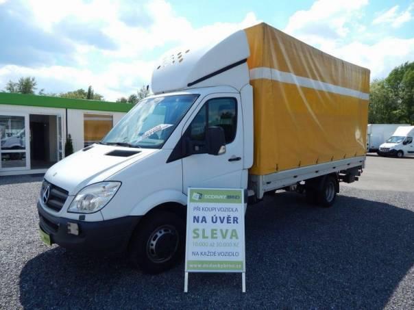 Mercedes-Benz Sprinter 518CDi PLACHTA ČELO, foto 1 Užitkové a nákladní vozy, Do 7,5 t | spěcháto.cz - bazar, inzerce zdarma