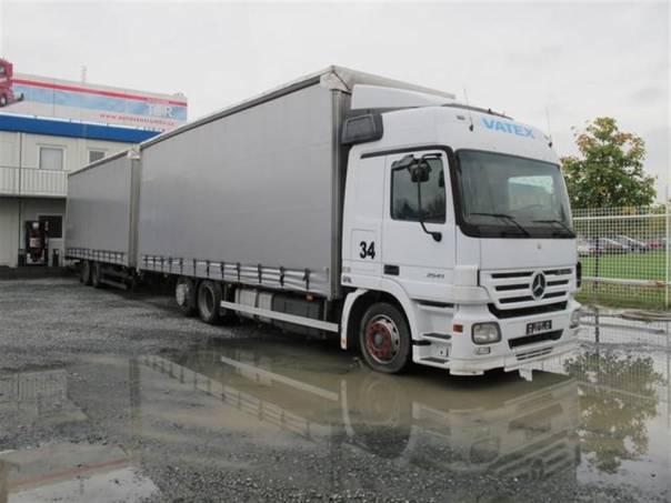 ACTROS 2541 L/NR Souprava, foto 1 Užitkové a nákladní vozy, Nad 7,5 t | spěcháto.cz - bazar, inzerce zdarma