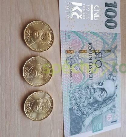 Sada dvacetikorun 2019 + pamětní stokoruna, foto 1 Hobby, volný čas, Sběratelství a starožitnosti | spěcháto.cz - bazar, inzerce zdarma