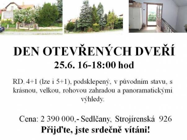 Prodej domu 4+1, Sedlčany, foto 1 Reality, Domy na prodej | spěcháto.cz - bazar, inzerce