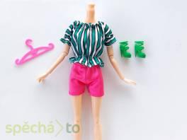 NOVÉ! Set pro panenku Barbie, tričko + kraťasy + boty+ ram. , Pro děti, Hračky  | spěcháto.cz - bazar, inzerce zdarma