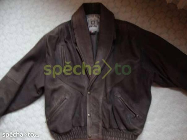 Pánská kožená bunda, foto 1 Móda a zdraví, Pánské oděvy | spěcháto.cz - bazar, inzerce zdarma