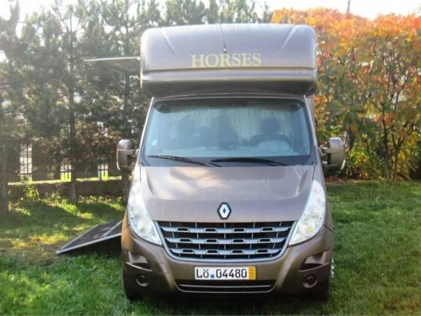 Renault Master 2,3 Dci,na prepravu koni, foto 1 Auto – moto , Automobily | spěcháto.cz - bazar, inzerce zdarma