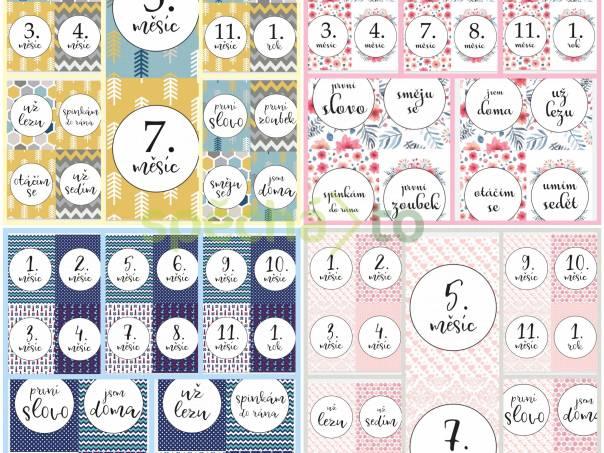 Milníkové kartičy pro miminko, pdf k vytisknutí , foto 1 Pro děti, Pro maminky a těhotné | spěcháto.cz - bazar, inzerce zdarma