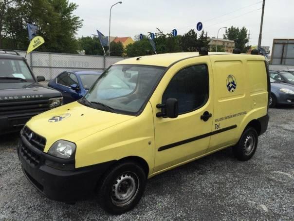 Fiat Dobló cargo 1.9 jtd 74kw klima, foto 1 Užitkové a nákladní vozy, Do 7,5 t | spěcháto.cz - bazar, inzerce zdarma