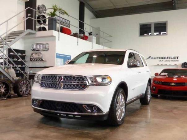 Dodge Durango 2015 Citadel 3.6 V6 Rear DVD, foto 1 Auto – moto , Automobily | spěcháto.cz - bazar, inzerce zdarma