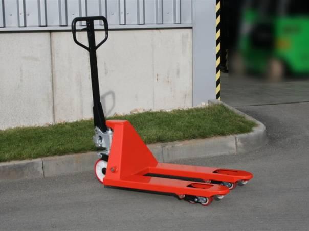 Palet.vozík TP 25/800 (308232), foto 1 Pracovní a zemědělské stroje, Vysokozdvižné vozíky | spěcháto.cz - bazar, inzerce zdarma