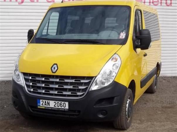Renault Master 2.3 DCi 9 míst, klima, foto 1 Užitkové a nákladní vozy, Autobusy | spěcháto.cz - bazar, inzerce zdarma