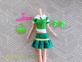 NOVÉ! Set pro Barbie,tričko+sukně+boty+kabelka+ramínko , Pro děti, Hračky  | spěcháto.cz - bazar, inzerce zdarma
