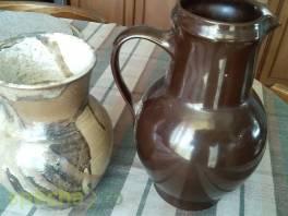 Dva staré, keramické džbány , Hobby, volný čas, Sběratelství a starožitnosti  | spěcháto.cz - bazar, inzerce zdarma
