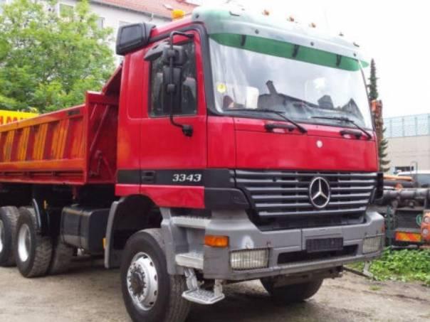 Mercedes-Benz  3343 Actros 6x6 S3 Bordmatic, foto 1 Užitkové a nákladní vozy, Nad 7,5 t | spěcháto.cz - bazar, inzerce zdarma
