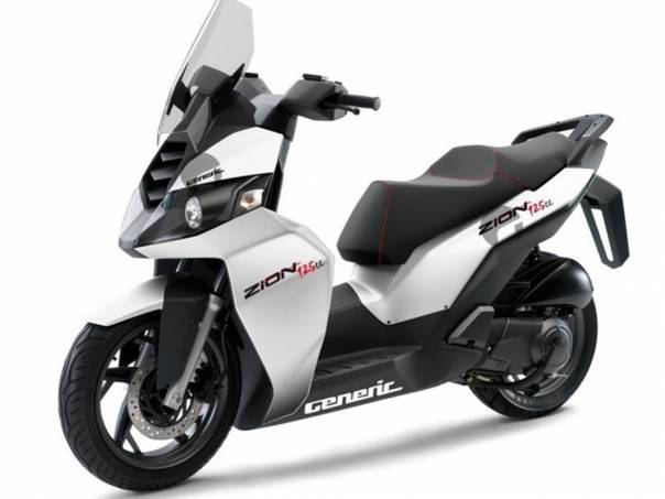 Generic Zion 125 ccm nový skútr, foto 1 Auto – moto , Motocykly a čtyřkolky | spěcháto.cz - bazar, inzerce zdarma