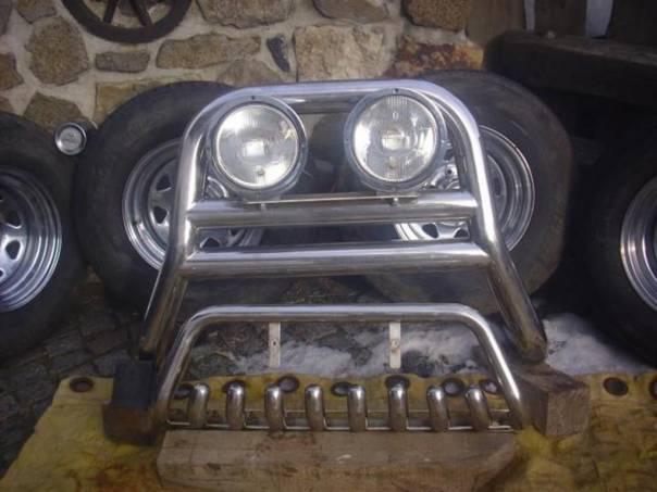 Nissan Double Cab Hrazda se světly + zuby + kola, foto 1 Náhradní díly a příslušenství, Osobní vozy | spěcháto.cz - bazar, inzerce zdarma