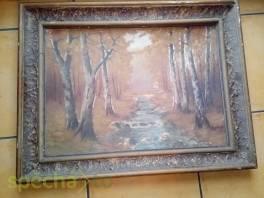 Prodám obraz starý viz foto, cena dohodou , Hobby, volný čas, Sběratelství a starožitnosti  | spěcháto.cz - bazar, inzerce zdarma