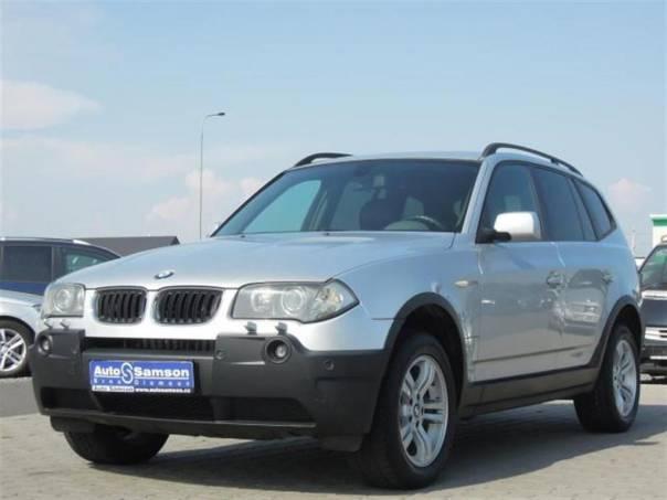 BMW X3 2,5i  *MANUÁL*KŮŽE*KLIMA*DTC*, foto 1 Auto – moto , Automobily | spěcháto.cz - bazar, inzerce zdarma