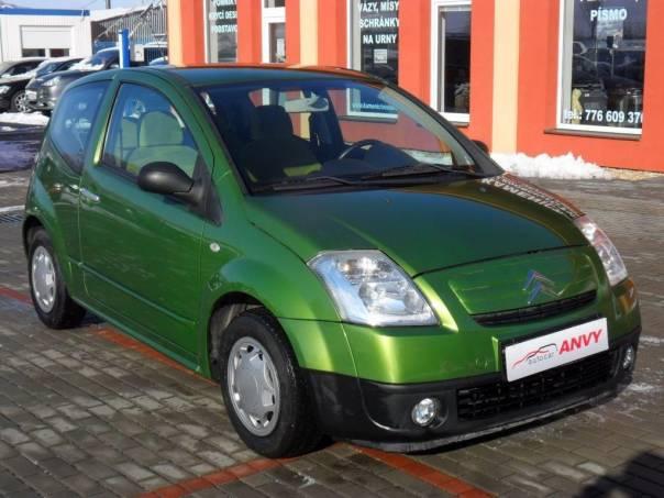 Citroën C2 1,1i KLIMA, foto 1 Auto – moto , Automobily | spěcháto.cz - bazar, inzerce zdarma