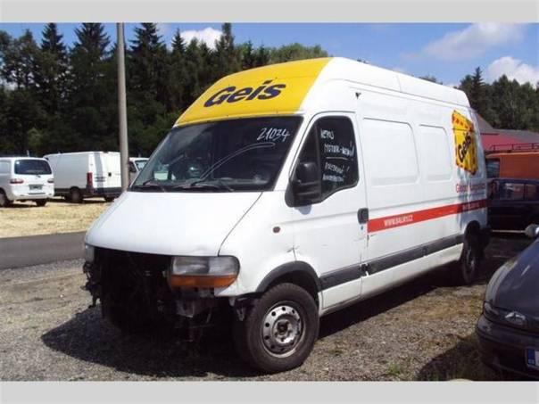Renault Master L3H3 2.5 DCI, foto 1 Užitkové a nákladní vozy, Do 7,5 t | spěcháto.cz - bazar, inzerce zdarma