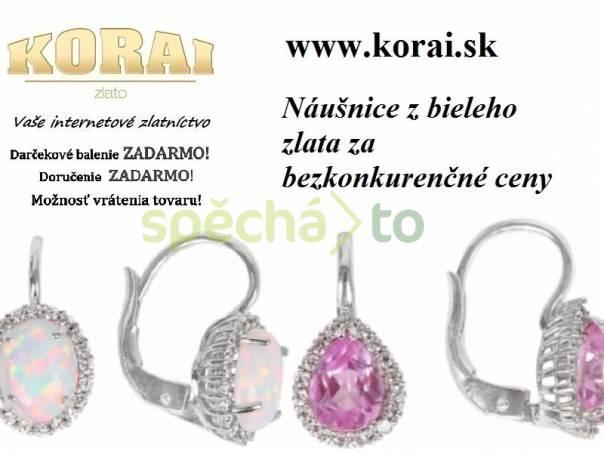 Náušnice z bieleho zlata od KORAI šperky 80d81da69e1