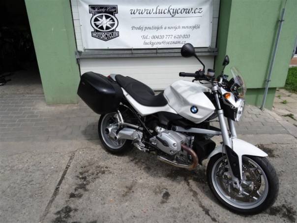 BMW R 1200 R 1200 R-ABS-Kufry-16tkm, foto 1 Auto – moto , Motocykly a čtyřkolky | spěcháto.cz - bazar, inzerce zdarma