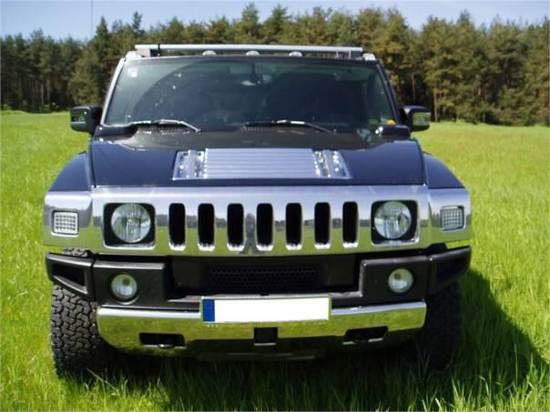Hummer H2 Hummer H2 LPG 180 l TV,NAVI,DVD,KUŽE,KAMERA,FULL, foto 1 Auto – moto , Automobily | spěcháto.cz - bazar, inzerce zdarma