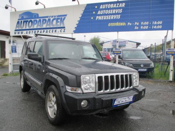 Jeep Commander 3.0 CRD Limited ČR, foto 1 Auto – moto , Automobily | spěcháto.cz - bazar, inzerce zdarma