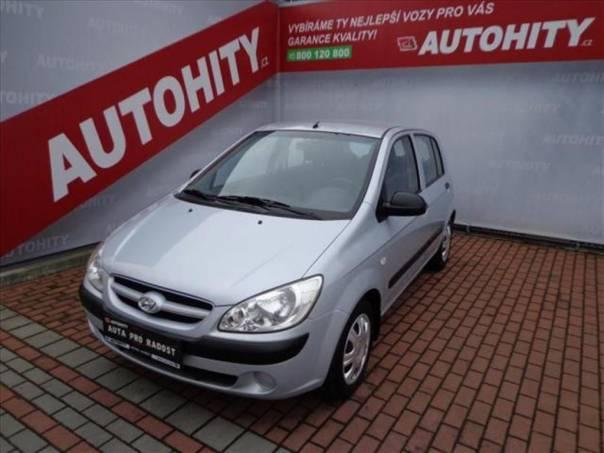Hyundai Getz 1.1 ČR, Klima, 1.majitel, foto 1 Auto – moto , Automobily | spěcháto.cz - bazar, inzerce zdarma