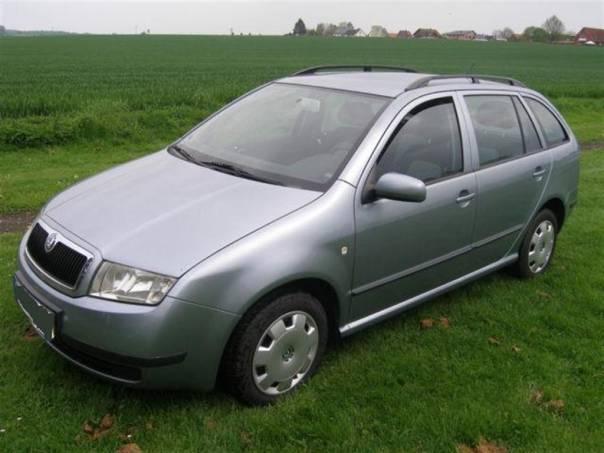 Škoda Fabia 1.4i 16V combi, r.v.2002, foto 1 Auto – moto , Automobily | spěcháto.cz - bazar, inzerce zdarma