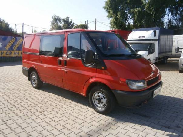 Ford Transit 260S 5MÍST A/C SERVISKA CZ, foto 1 Užitkové a nákladní vozy, Do 7,5 t | spěcháto.cz - bazar, inzerce zdarma