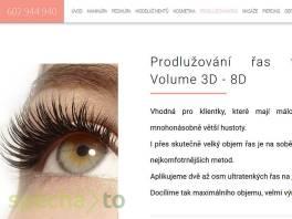 Prodlužování řas Praha - Extra Volume 3D - 8D , Kosmetika, Péče o obličej  | spěcháto.cz - bazar, inzerce zdarma