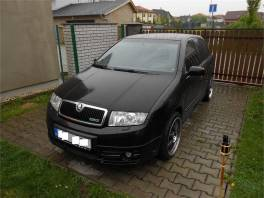 Škoda Fabia 1.9 TDI RS 121 kw , serviska ,TOP STAV !!
