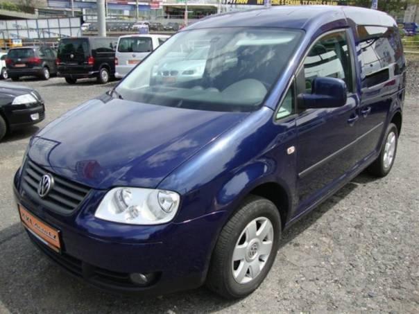 Volkswagen Caddy LIFE 1.9 TDi 5 míst KLIMA, foto 1 Auto – moto , Automobily | spěcháto.cz - bazar, inzerce zdarma