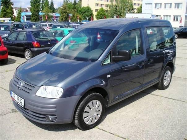 Volkswagen Caddy 1,9TDI KLIMA 7 MIST SERV.KNIHA, foto 1 Auto – moto , Automobily | spěcháto.cz - bazar, inzerce zdarma