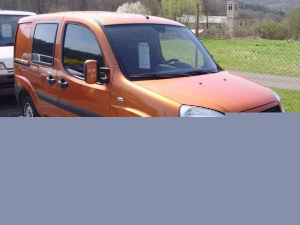 Fiat Dobló 1,6 i+ CNG , foto 1 Auto – moto , Automobily | spěcháto.cz - bazar, inzerce zdarma