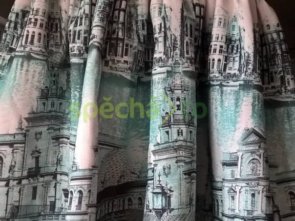 Krásná sukně s potiskem, foto 1 Dámské oděvy, Sukně, šaty   spěcháto.cz - bazar, inzerce zdarma