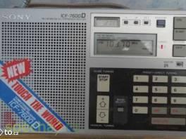 Globální přijímač Sony ICF-7600D , Elektronika, TV, audio, video  | spěcháto.cz - bazar, inzerce zdarma