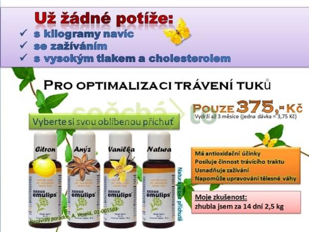 Český výrobek EMULIPS - prodej Brno, foto 1 Móda a zdraví, Doplňky stravy | spěcháto.cz - bazar, inzerce zdarma